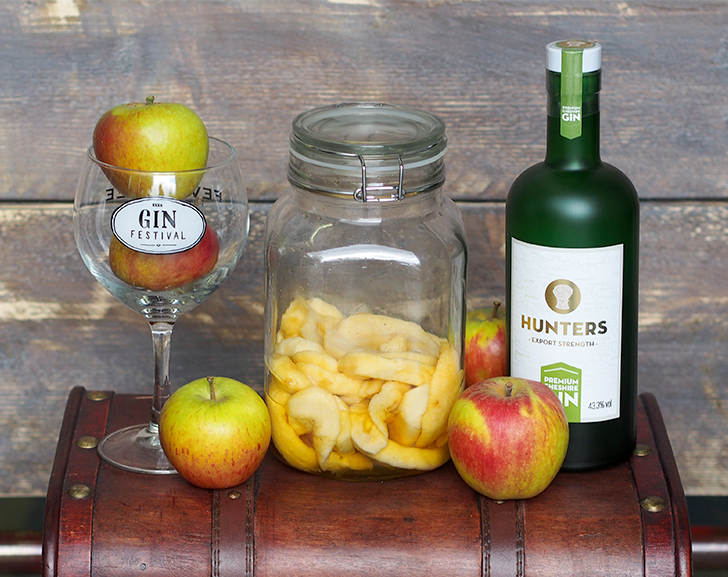 Gin soaked apples: how to guide