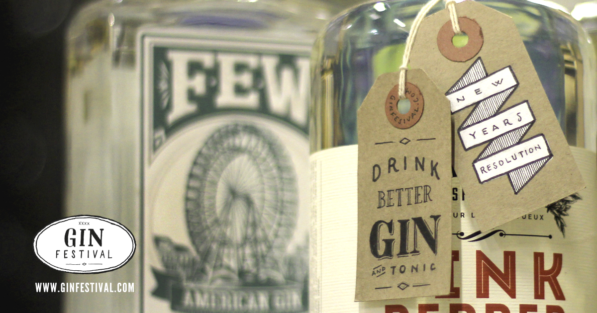 5 New Year's Resolutions for Gin Drinkers