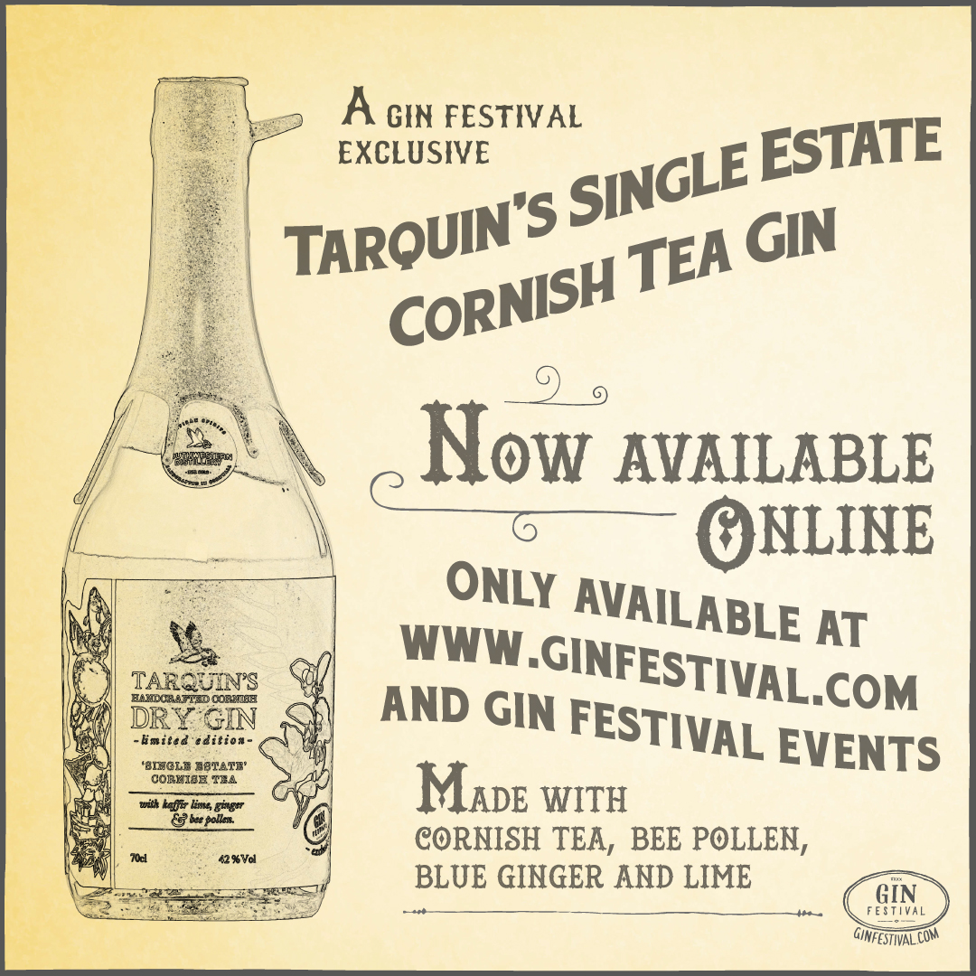Exclusive to GinFestival - Single Estate Cornish Tea Gin