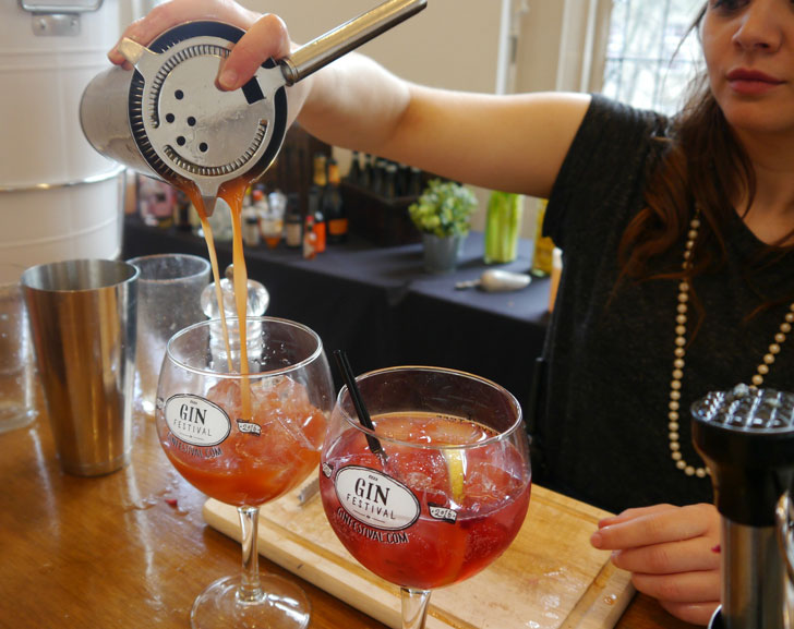 Gin Festival Nottingham 2016 by Ellie