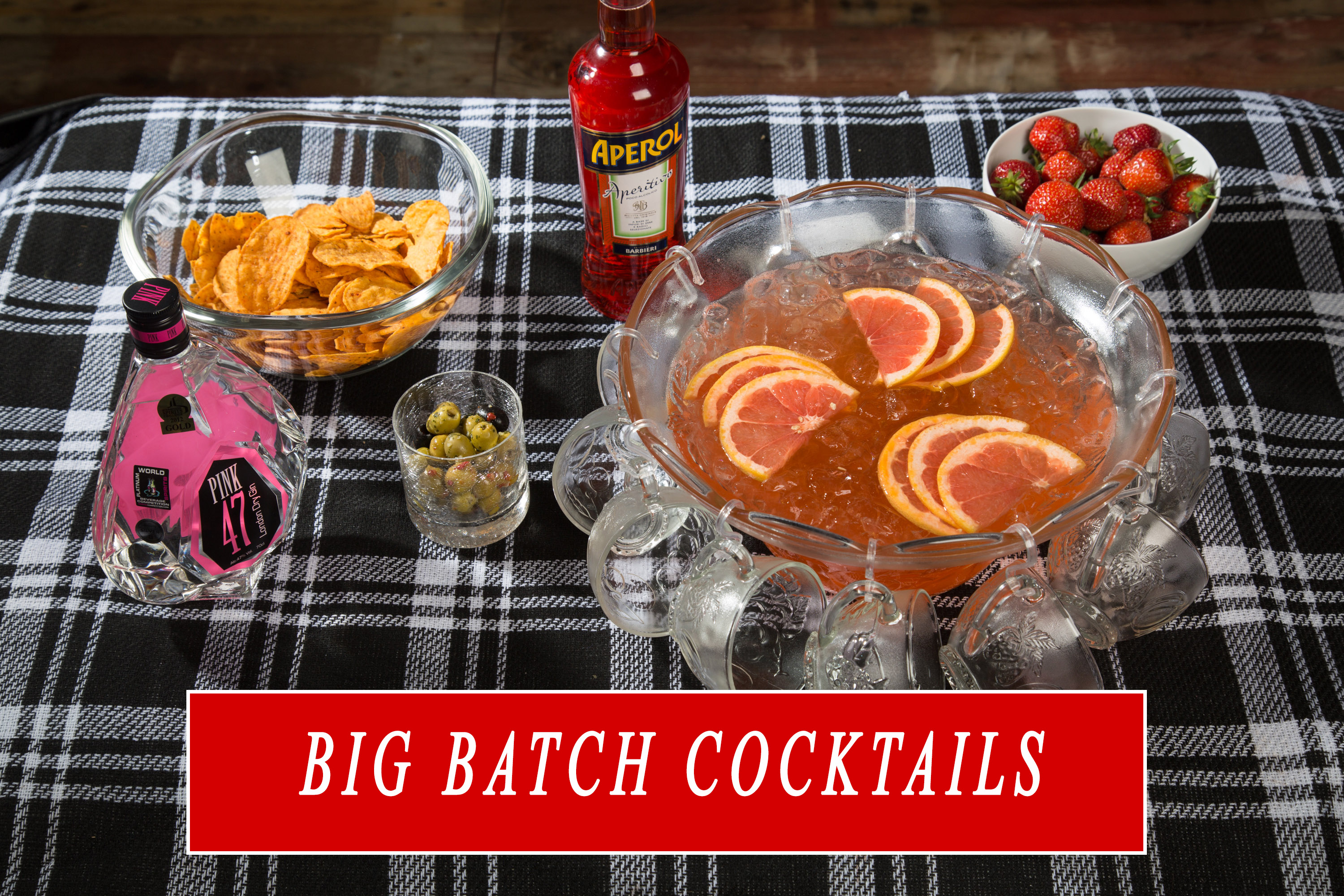 5 Big Batch Gin Cocktails