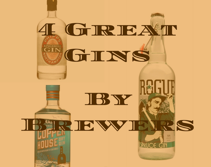 4 Great Gins by Brewers