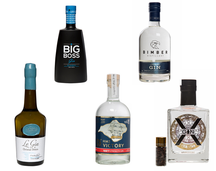 5 New Gins