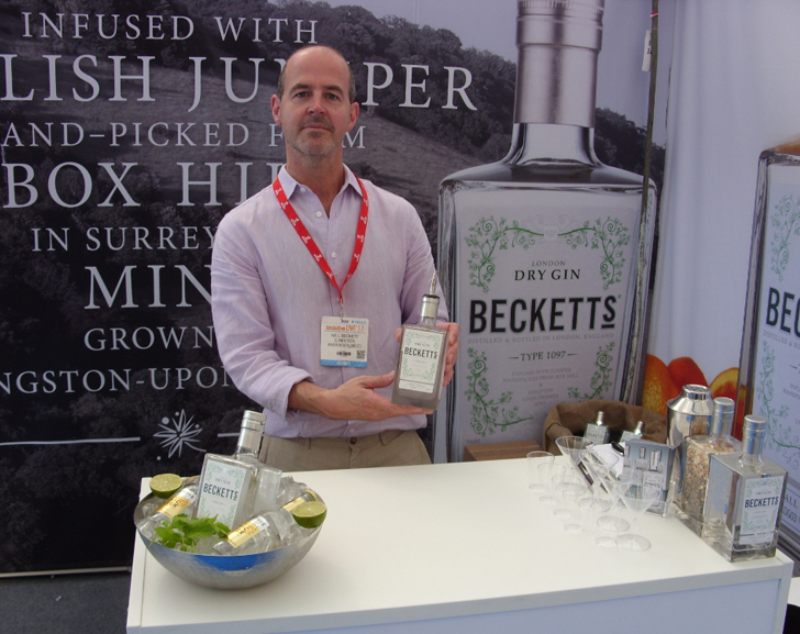 (G)interview with Neil Beckett from Becketts Gin