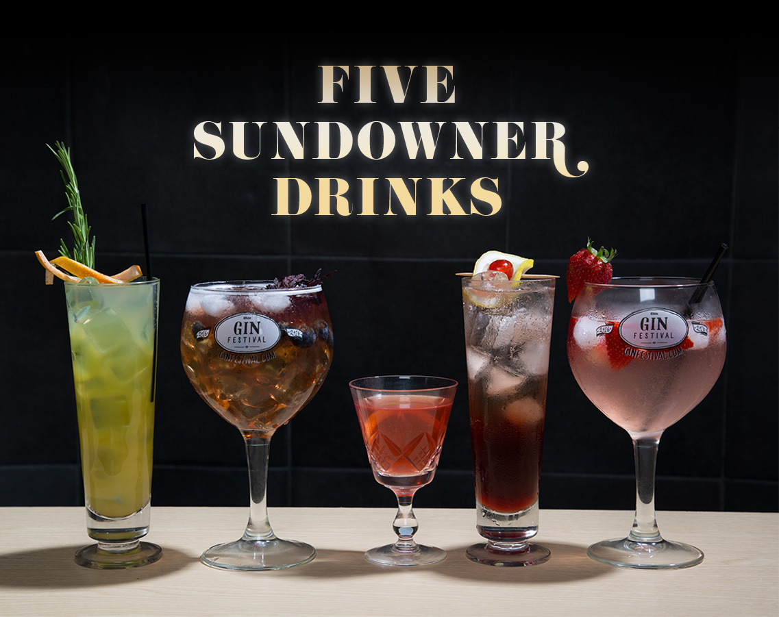 5 Sundowner Gin Cocktails