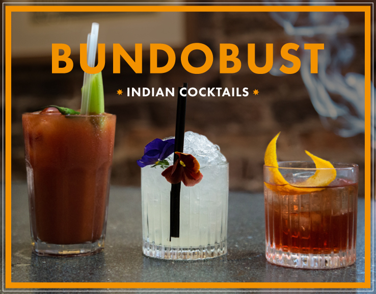 Bundobust Indian Cocktails