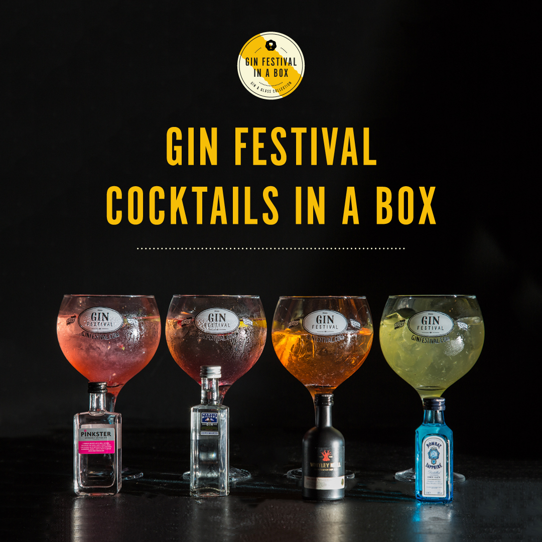 Gin Festival Cocktails in a Box