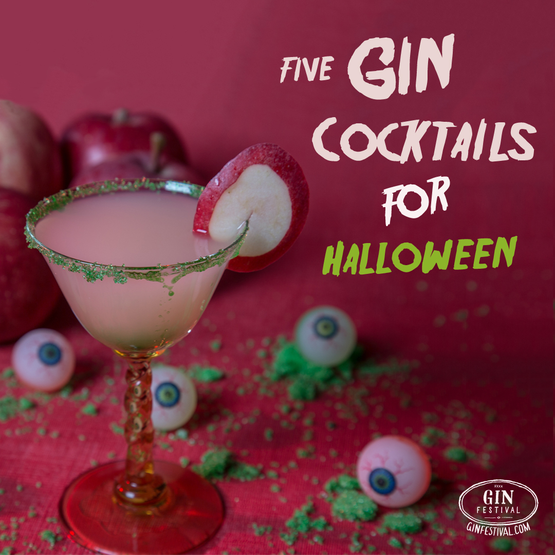 5 Gin Cocktails for Halloween