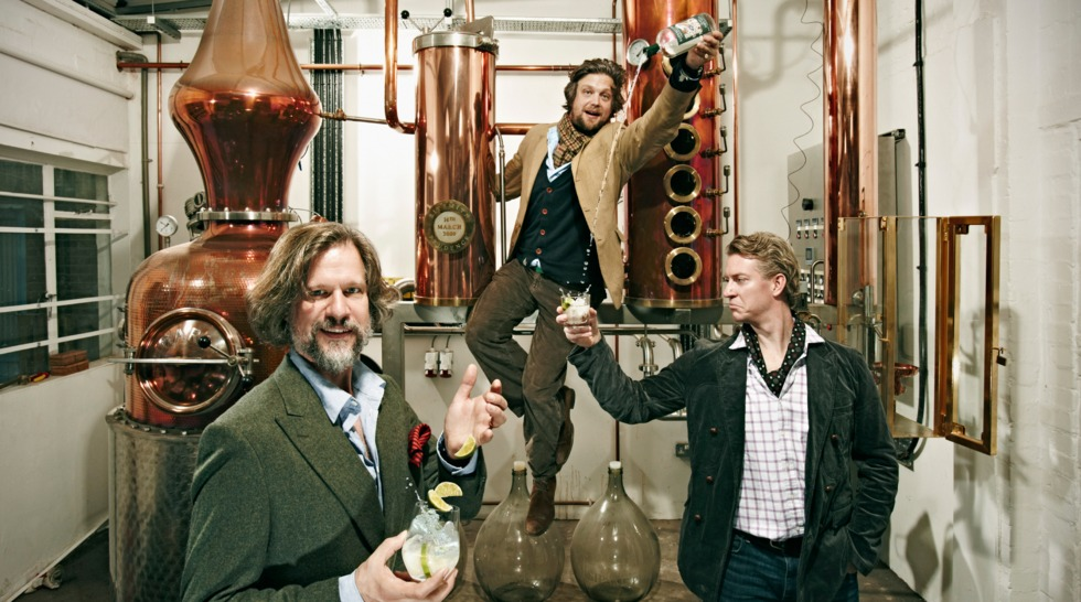 Sipsmith Gin Partners with Beam Suntory