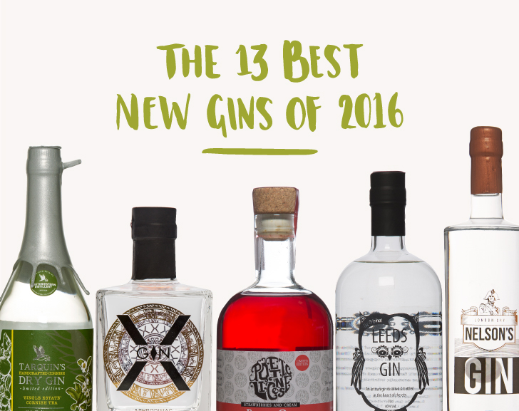 The Best New Gins of 2016