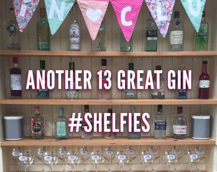 Another 13 Great Gin #Shelfies