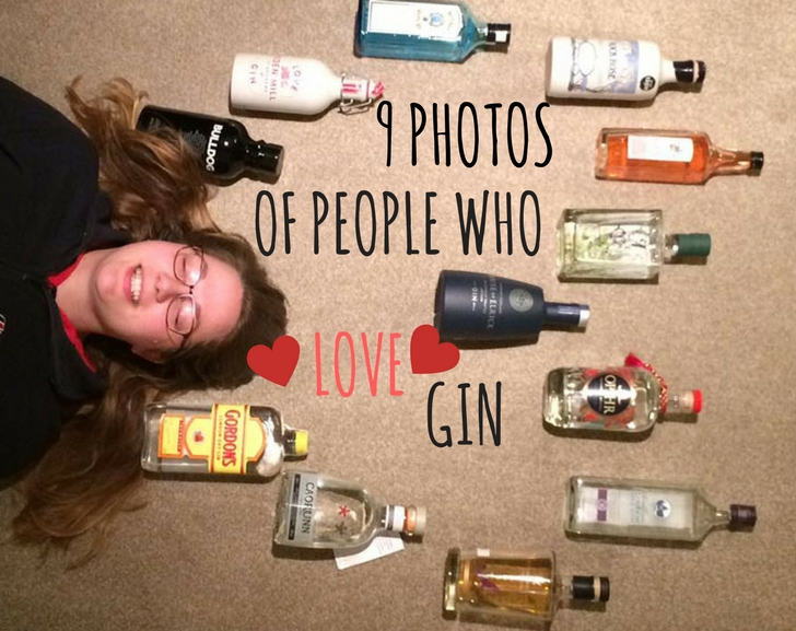 9 Photos of people who love gin